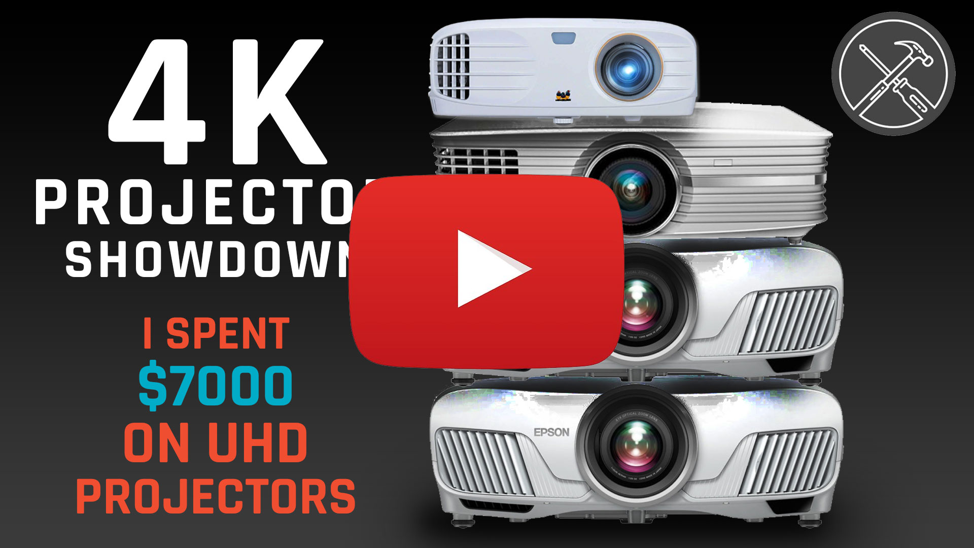 4K Projector Showdown – I Spent $7,000 Comparing 4 UHD Projectors
