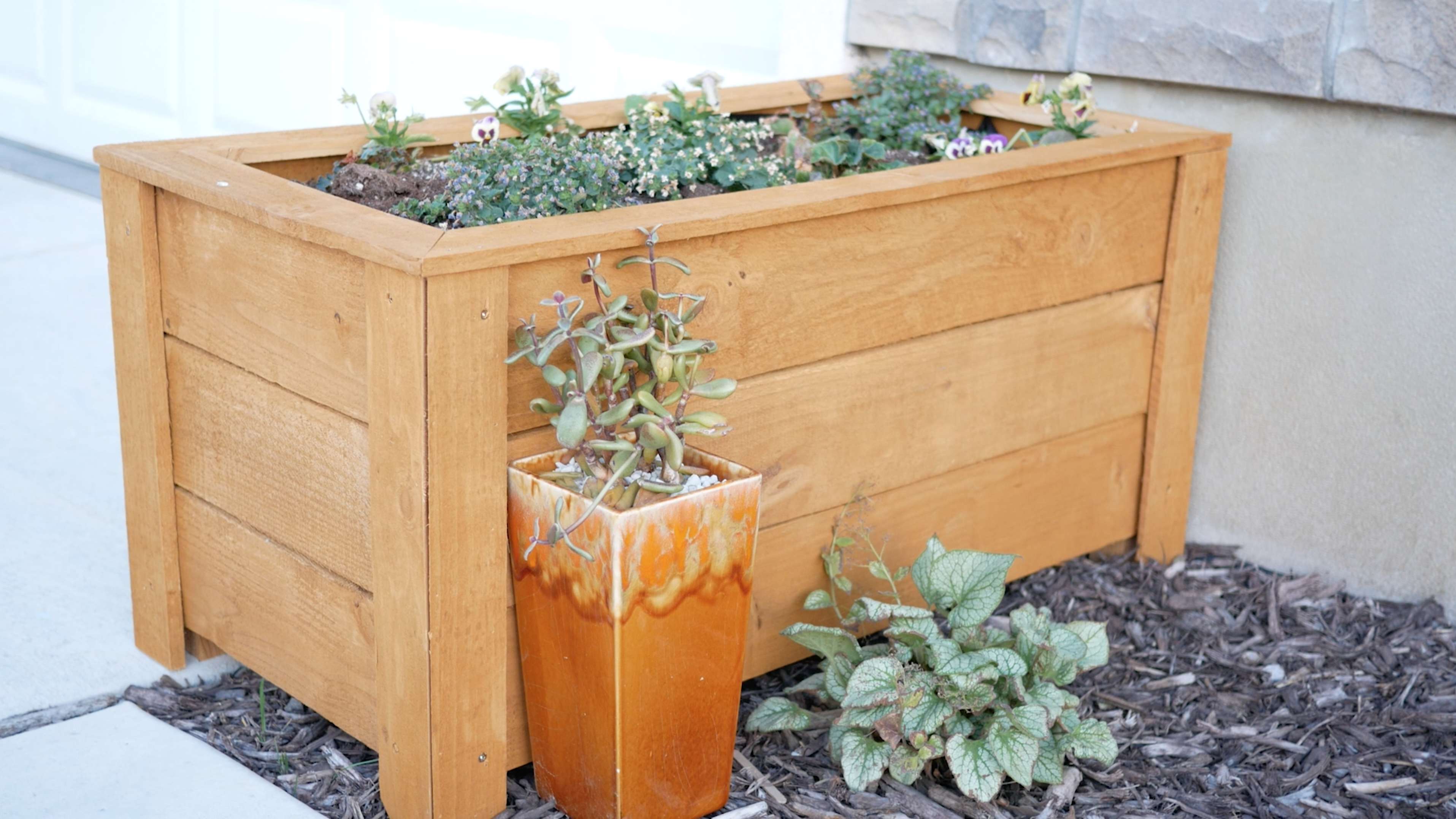 $23 DIY Planter Box