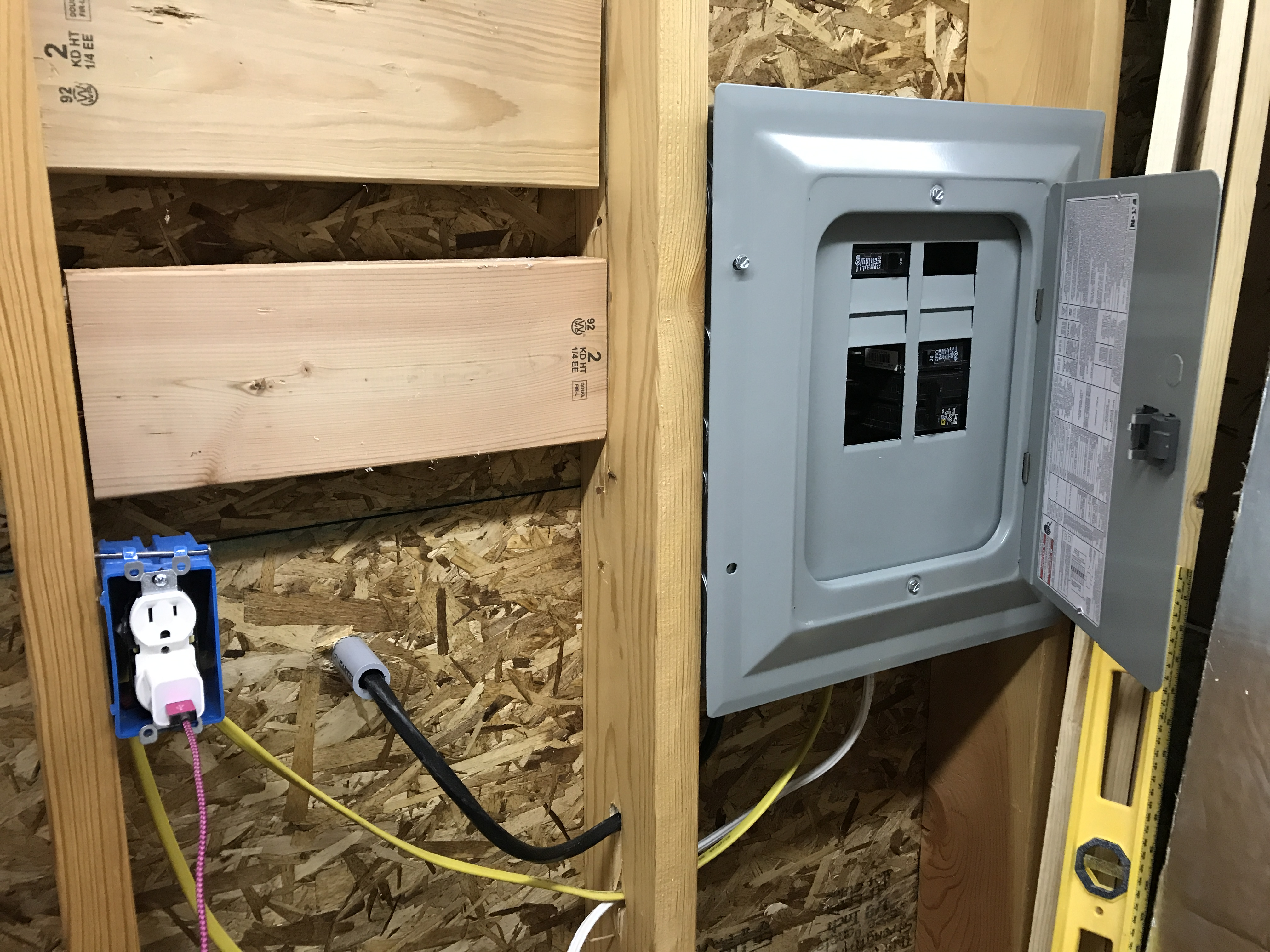 Building a Woodshop from Scratch – Electrical Wiring