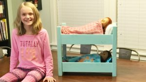 diy doll bunk bed