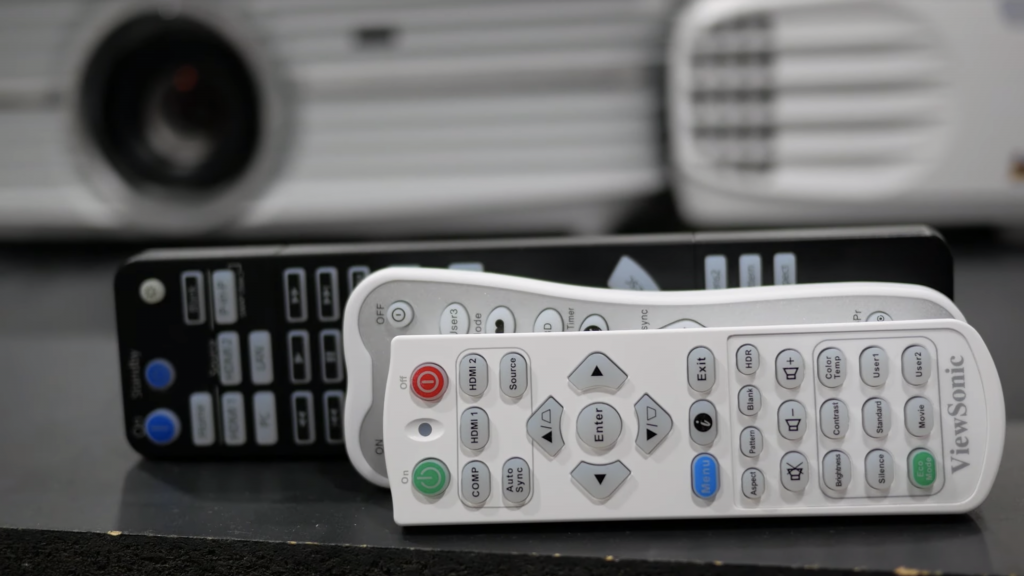 4K Projector Remote Control Comparison