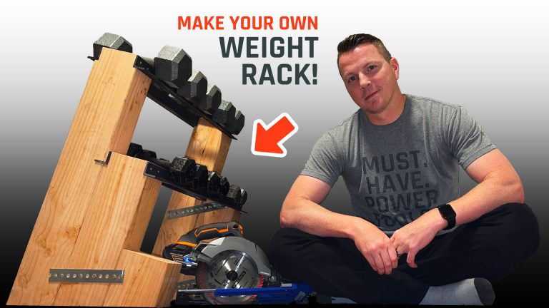 Make Your Own Weight Rack